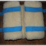 Ľadvinový pás 100% OVČIA VLNA (ovčie rúno) Merino