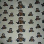 Detská deka 100% OVČIA VLNA (ovčie rúno) 140x100 cm vzor Ovečky