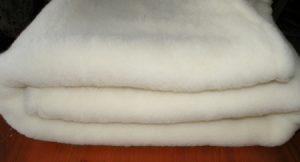 Prestieradlo 100% OVČIA VLNA (ovčie rúno) 120 x 200 cm